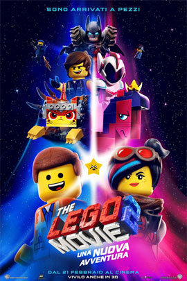 THE LEGO MOVIE 2: UNA NUOVA AVVENTURA - 3D (THE LEGO MOVIE 2: THE SECOND PART)